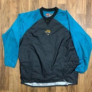 Nike Vintage Windbreaker Jacksonville Jaguars XL